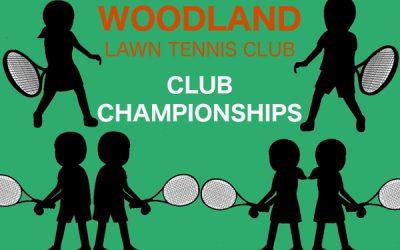 2020 Woodland Tennis Club Championships
